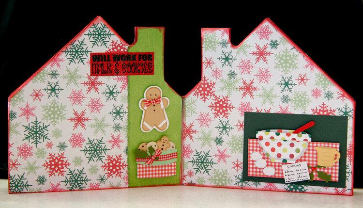 Christmas House Album - Pgs 5 & 6