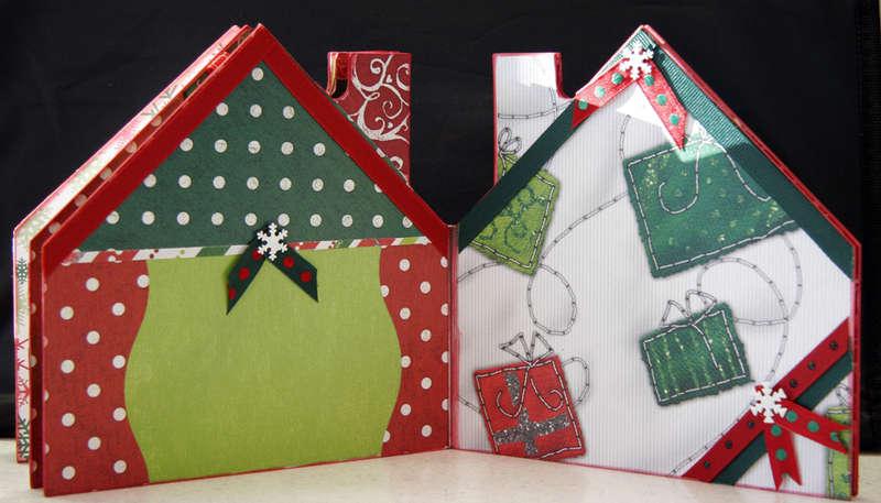 Christmas House Album - Pgs 9 & 10