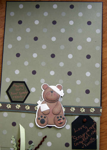 Get Well Card for Sara - Inside Top