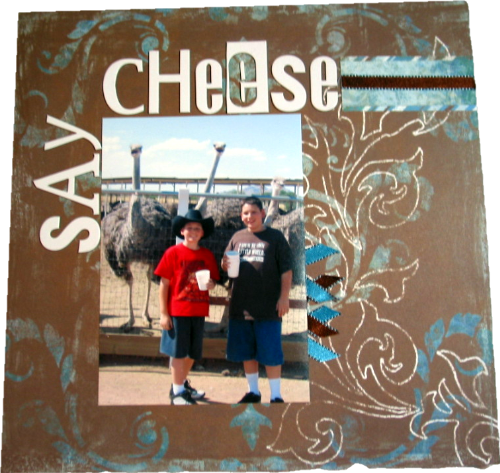 Say Cheese page 1