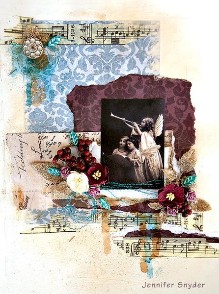 Angel Journal Page - Inkido
