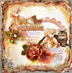 Teddy Bear Love - FabScraps