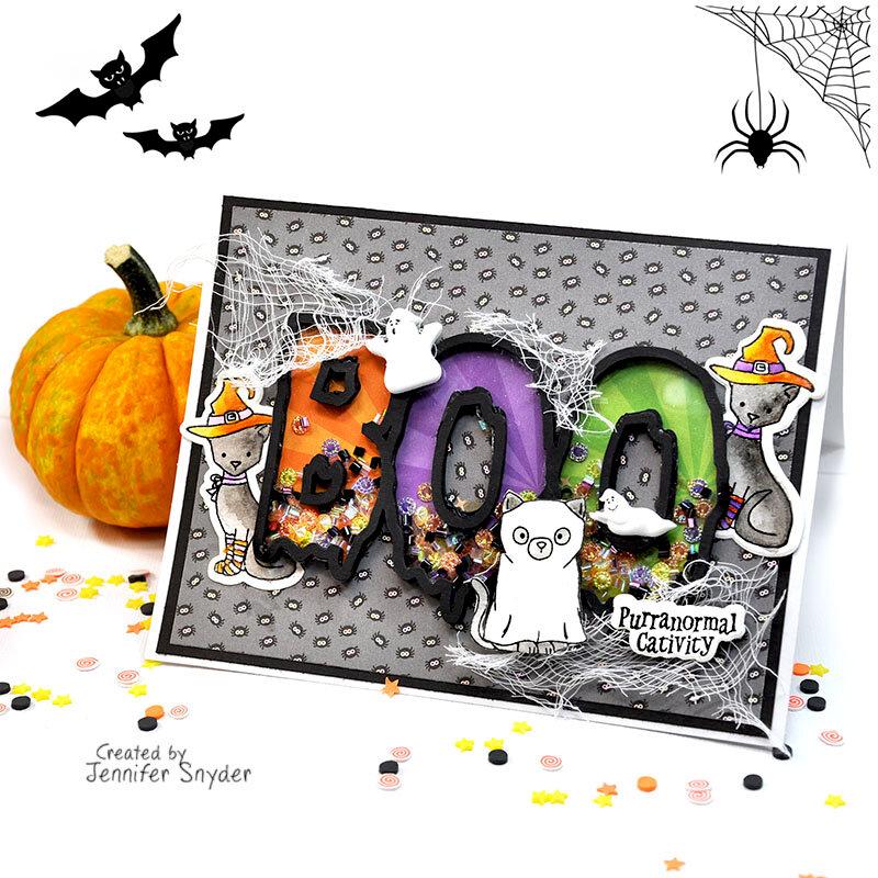 Boo Shaker Card