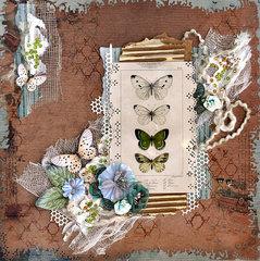 Butterflies - FabScraps