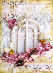 Christmas Card  -Scraps of Elegance