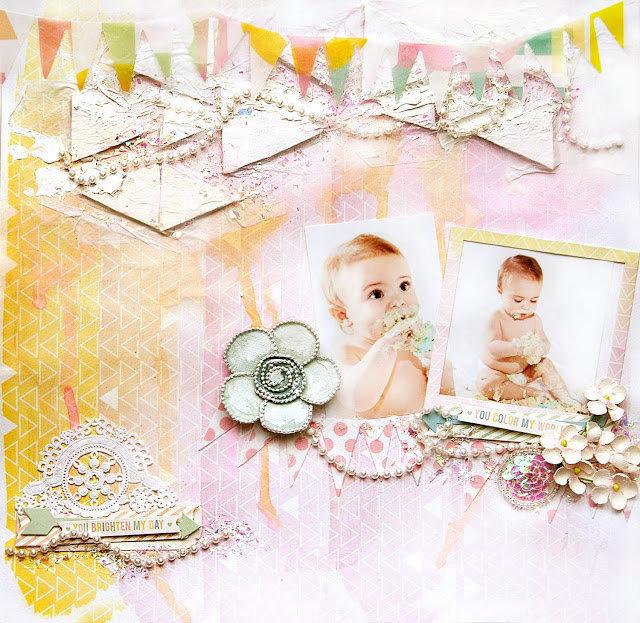 Baby's First Birthday - Flying Unicorns