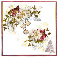 Christmas Flowers -Flying Unicorns
