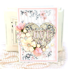 Wedding Card - Fabscraps