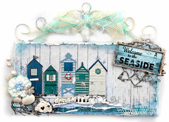 Beach Wall Hanging - FabScraps