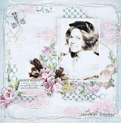 Feather In MY Bonnet - Scraps Of Elegance