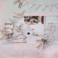 Shabby Winter Forest - Scraps Of Elegance - Dusty Attic