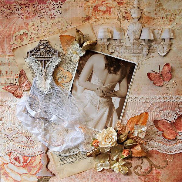 Wedding Day Butterflies - Scraps Of Elegance - Dusty Attic