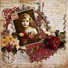 Pretty As A Flower - Scraps Of Darkness - Dusty Attic Guest