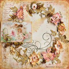 Floral Wreath - Blue Fern Studios