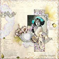Floral Girl - Maja Design