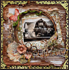 Barn 'Ol Barn - Scraps Of Elegance - Dusty Attic
