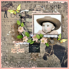 Cowgirl - FabScraps