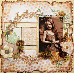 Girl on a Picnic -Scraps Of Elegance