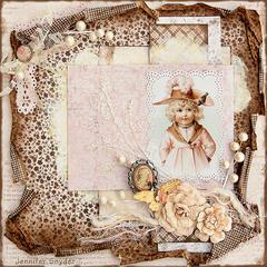 Winter Girl (Maud Humphrey) -Maja Design