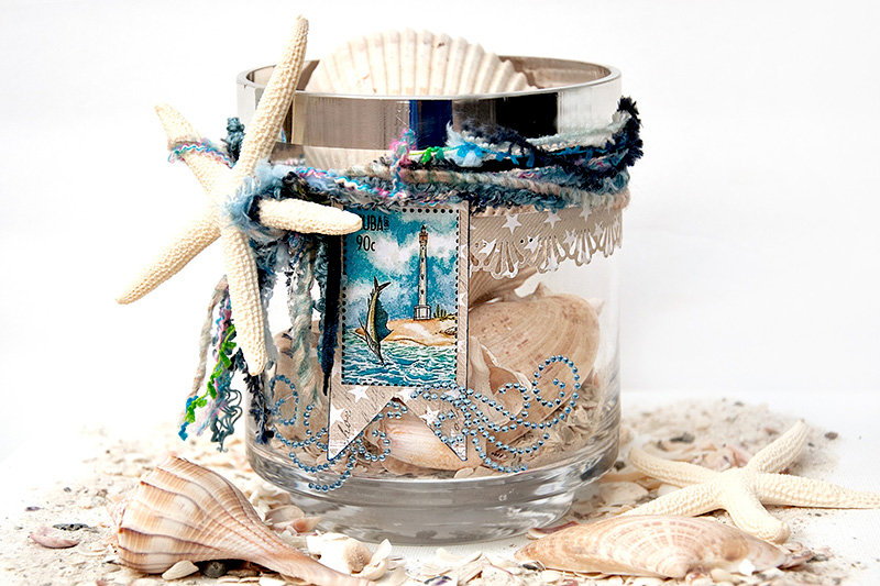 Shell Collecting Jar -ZVA Creative