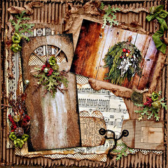 Holiday Door - Scraps Of Darkness - Dusty Attic