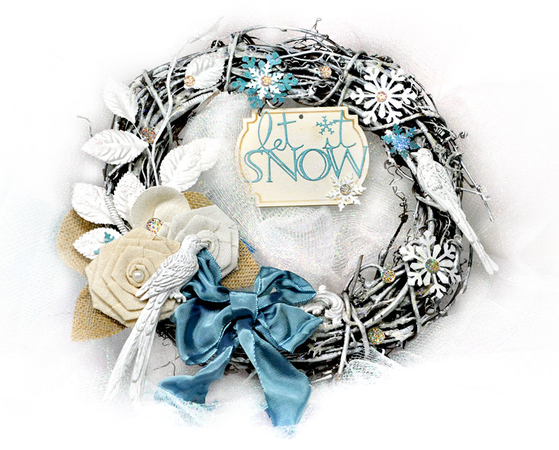 Winter Wreath Prima