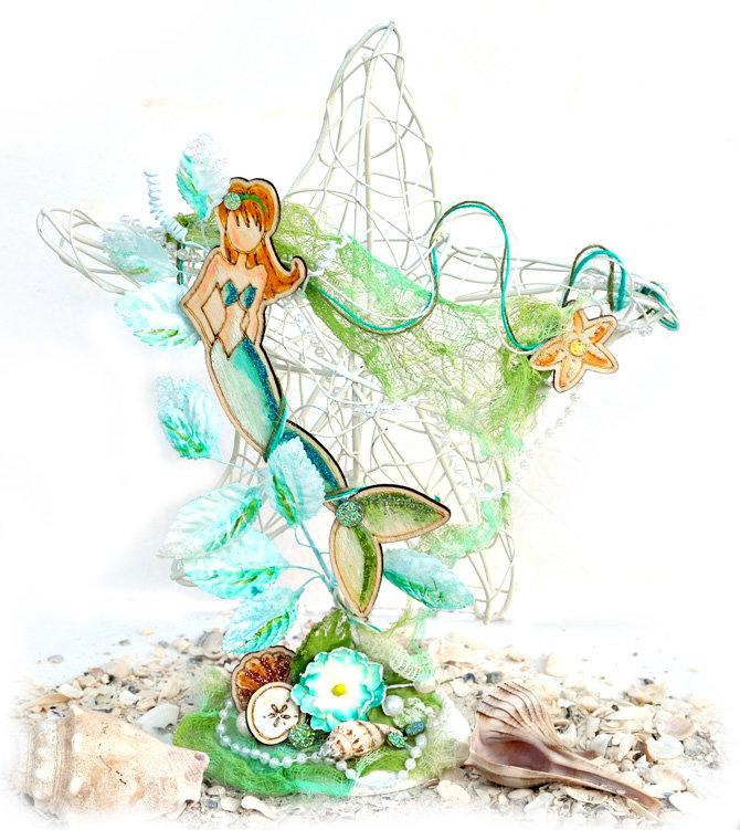 Wooden Mermaid -Julie Nutting and Prima