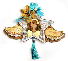 Julie Nutting Doll Ornament  - Prima