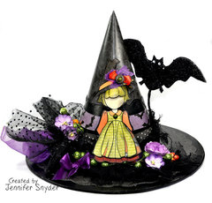 Witch Hat- Halloween Home Decor - Julie Nutting Prima