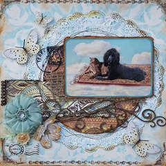 Escape Kitty (Chena) - Magic Carpet Ride - Scraps of Darkness