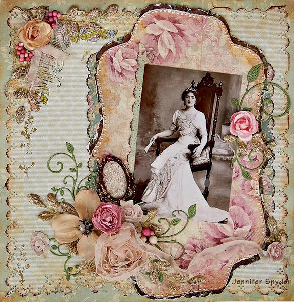 The Queen - Scraps of Elegance