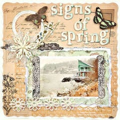 Looking for Signs of Spring - Scraps of Darkness