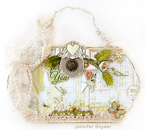 Purse -Scraps of Elegance