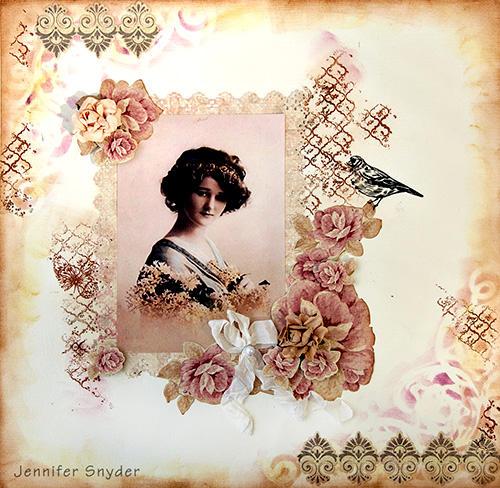 Magnolia Garden - Scraps Of Elegance