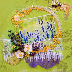 Lavender Fields - Scraps Of Elegance