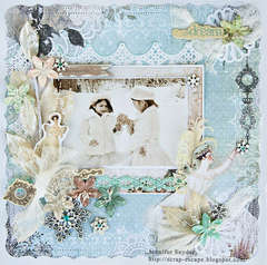 Snow Princesses - Scraps Of Elegance May
