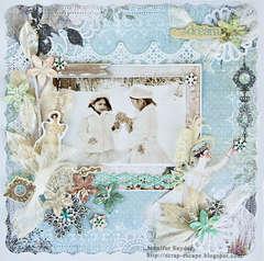 Snow Princesses - Scraps Of Elegance May