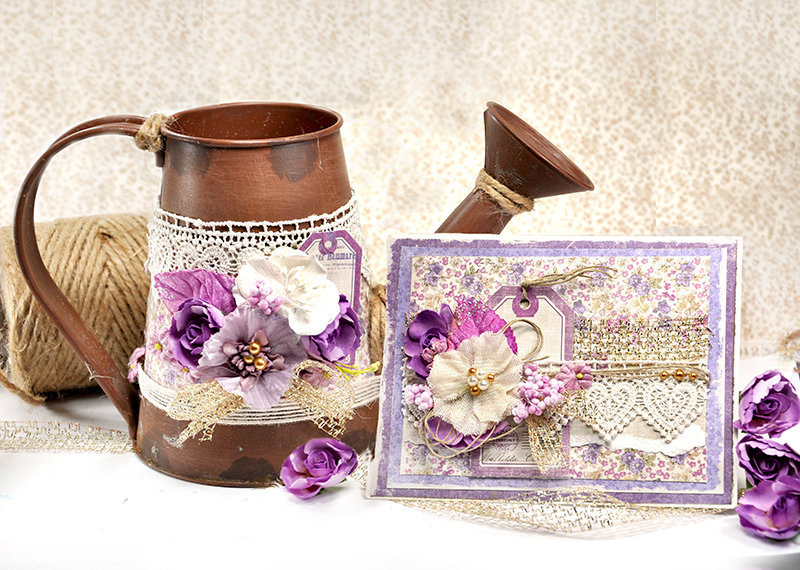Watering can and card set - Maja Design