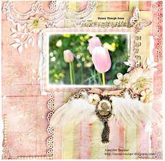 Grandma's Garden - Pink Challenge