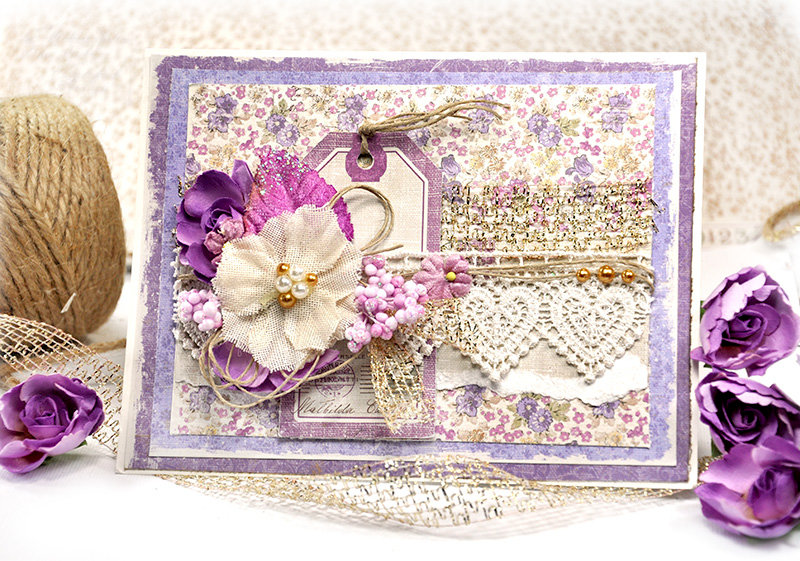 Card for Watering can and card set - Maja Design