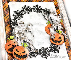 Halloween Mummies Canvas