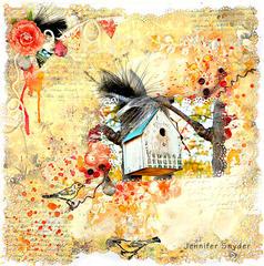Birdhouse - Scraps of Elegance