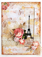 Paris Canvas - Inkido