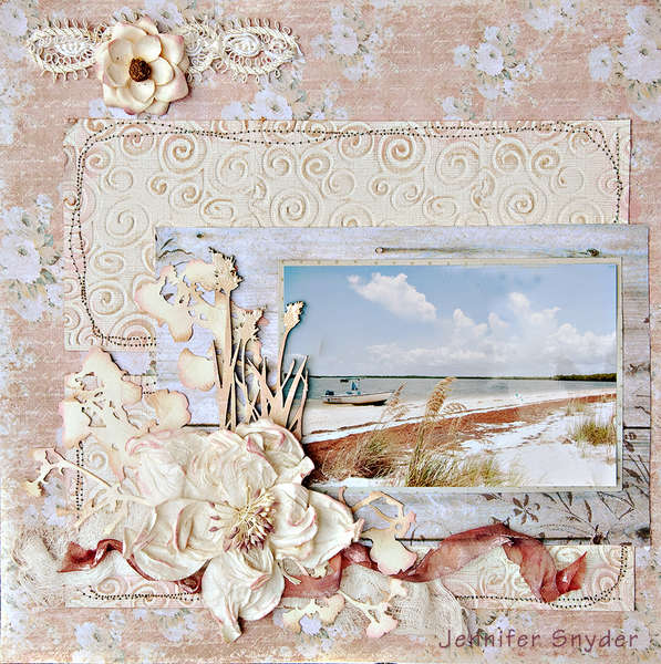 Peaceful Beach - Scraps of Elegance