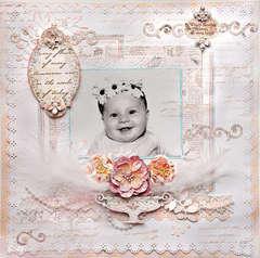 Happy Little Baby - Scraps Of Elegance