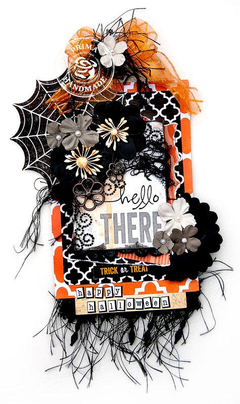 Spooky Halloween Tag - Prima Marketing DT