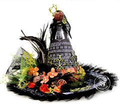 Halloween Witches Hat -Prima Marketing DT