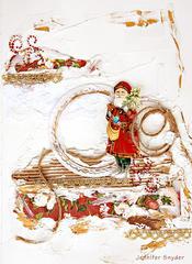 Santa Journal-Scraps Of Darkness