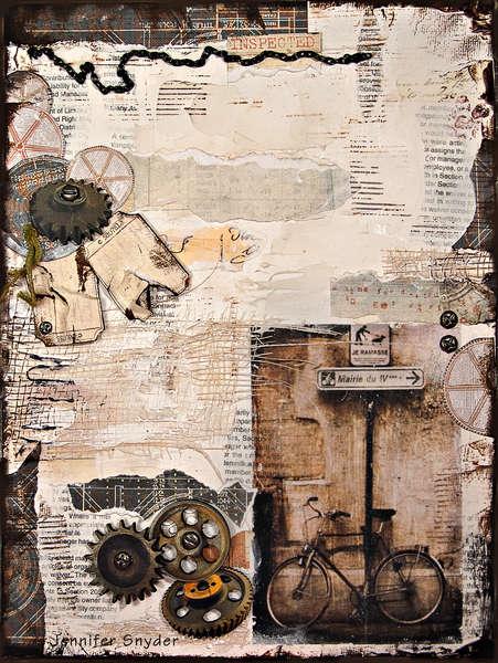 Bike - Scraps Of Darkness September Kit