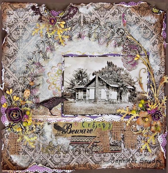 Creepy House -Scraps Of Darkness